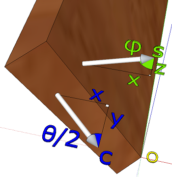 Surface normals for Bevel calculation