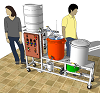 Electric Brewery 3D Model