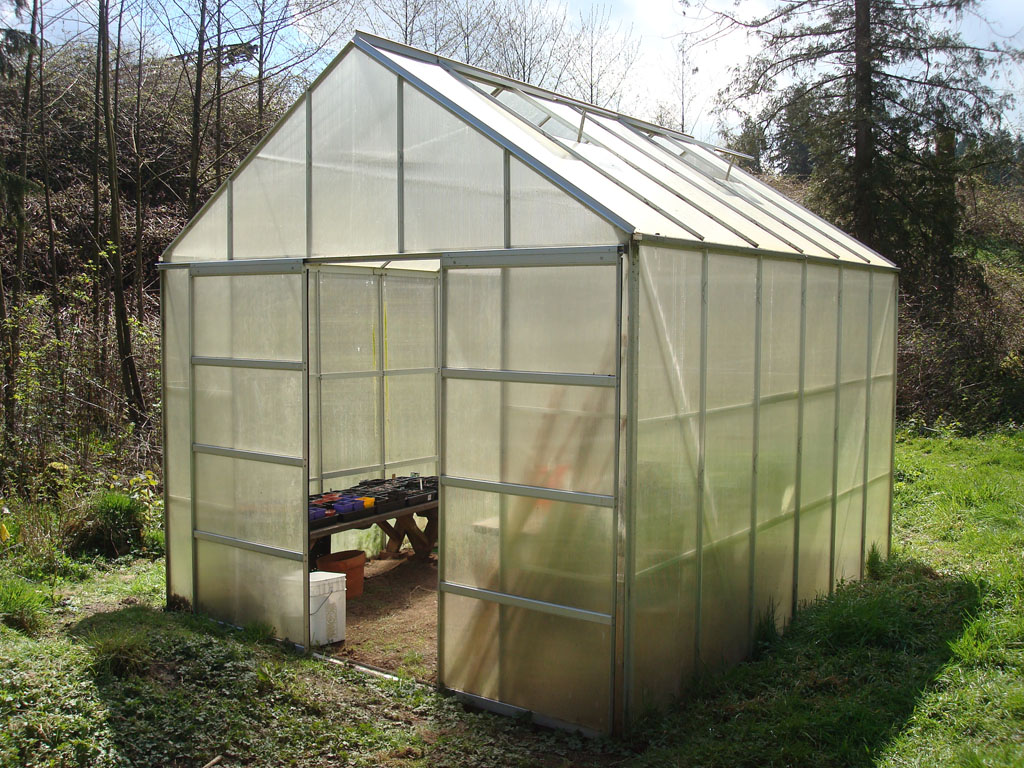 Greenhouse front